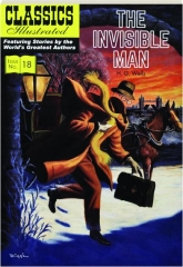 THE INVISIBLE MAN: Classics Illustrated, No. 18