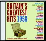 BRITAIN'S GREATEST HITS 1958