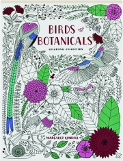 BIRDS AND BOTANICALS: Coloring Collection