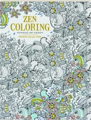 ZEN COLORING ADVANCED ART THERAPY: Design Collection