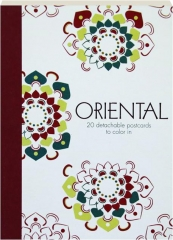 ORIENTAL: 20 Detachable Postcards to Color In
