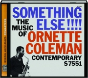 ORNETTE COLEMAN: Something Else!!!!