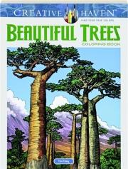BEAUTIFUL TREES COLORING BOOK