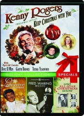 KENNY ROGERS CHRISTMAS SPECIAL / LIBERACE CHRISTMAS / FRED WARING MUSIC / USO ALL-STAR CHRISTMAS SHOW