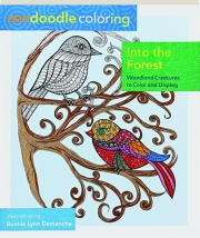 INTO THE FOREST: Zendoodle Coloring