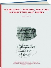 TAX RECEIPTS, TAXPAYERS, AND TAXES IN EARLY PTOLEMAIC THEBES