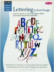 LETTERING & WORD DESIGN: How to Draw & Paint