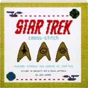 STAR TREK CROSS-STITCH: Explore Strange New Worlds of Crafting