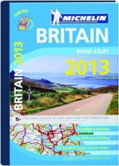 MICHELIN BRITAIN ROAD ATLAS 2013