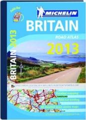 MICHELIN BRITAIN ROAD ATLAS 2013