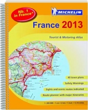 MICHELIN FRANCE 2013 TOURIST & MOTORING ATLAS