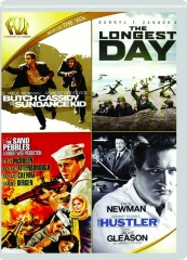 BUTCH CASSIDY AND THE SUNDANCE KID / THE LONGEST DAY / THE SAND PEBBLES / THE HUSTLER