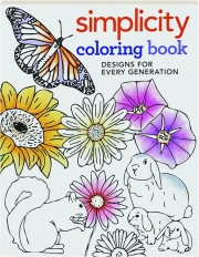SIMPLICITY COLORING BOOK: Designs for Every Generation
