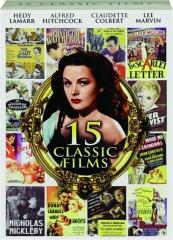 15 CLASSIC FILMS