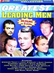 GREATEST LEADING MEN COLLECTION: 20 Films