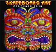2018 SKATEBOARD ART CALENDAR