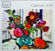 2018 NATIONAL GALLERIES SCOTLAND CALENDAR