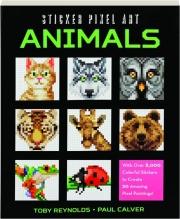 ANIMALS: Sticker Pixel Art