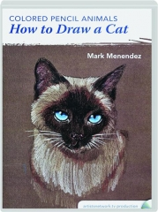 HOW TO DRAW A CAT: Colored Pencil Animals