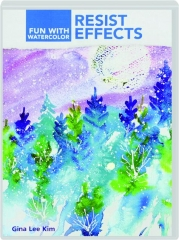 RESIST EFFECTS: Fun with Watercolor