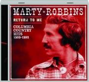 MARTY ROBBINS: Return to Me