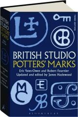 BRITISH STUDIO POTTERS' MARKS, THIRD EDITION