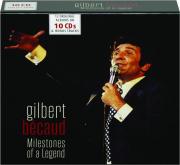GILBERT BECAUD: Milestones of a Legend