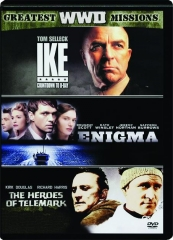 IKE: COUNTDOWN TO D-DAY / ENIGMA / THE HEROES OF TELEMARK
