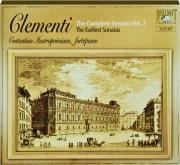 CLEMENTI: The Complete Sonatas Vol. 2