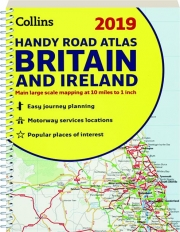 2019 COLLINS HANDY ROAD ATLAS BRITAIN AND IRELAND