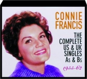 CONNIE FRANCIS: The Complete US & UK Singles As & Bs, 1955-62