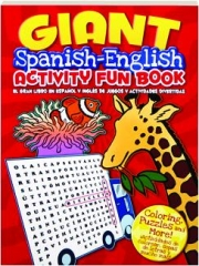 GIANT SPANISH-ENGLISH ACTIVITY FUN BOOK