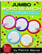 JUMBO WORD SEARCH EXTRAVAGANZA!