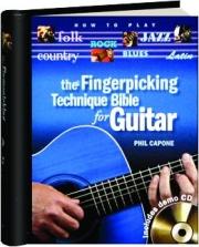 THE FINGERPICKING TECHNIQUE BIBLE FOR GUITAR