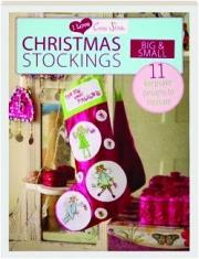 CHRISTMAS STOCKINGS BIG & SMALL: I Love Cross Stitch