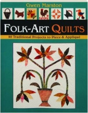 LIVELY LITTLE FOLK-ART QUILTS: 20 Traditional Projects to Piece & Applique