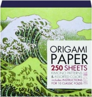 ORIGAMI PAPER: Kimono Patterns & Assorted Colors
