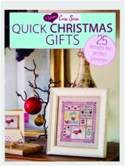 QUICK CHRISTMAS GIFTS: I Love Cross Stitch
