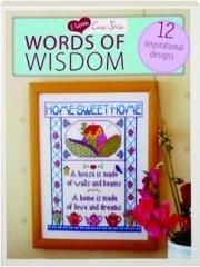 WORDS OF WISDOM: I Love Cross Stitch