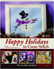 HAPPY HOLIDAYS IN CROSS-STITCH