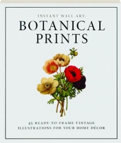 BOTANICAL PRINTS: Instant Wall Art