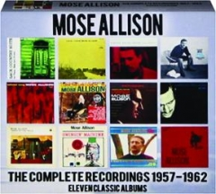 MOSE ALLISON: The Complete Recordings 1957-1962