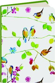 WATERCOLOR BIRDS JOURNAL