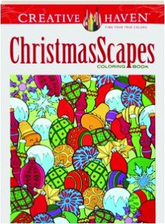 CHRISTMASSCAPES COLORING BOOK