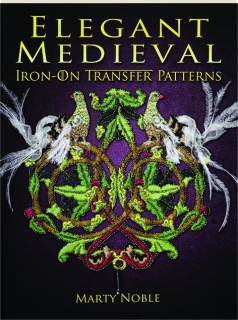 ELEGANT MEDIEVAL IRON-ON TRANSFER PATTERNS
