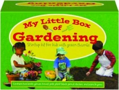 MY LITTLE BOX OF GARDENING: Startup Kit for Kids with Green Thumbs