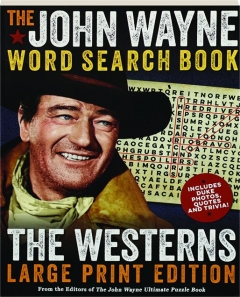 THE JOHN WAYNE WORD SEARCH BOOK: The Westerns