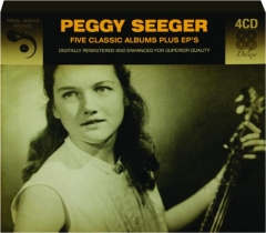PEGGY SEEGER: Five Classic Albums Plus EP's