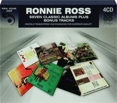 RONNIE ROSS: Seven Classic Albums Plus Bonus Tracks