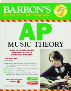BARRON'S AP MUSIC THEORY, 2ND EDITION